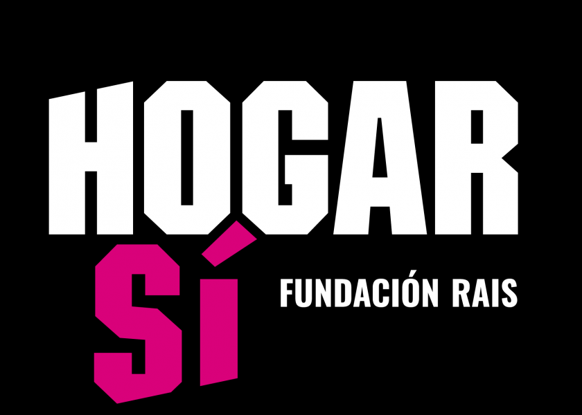 Logotipo de HOGAR SÍ  (Fundación RAIS)