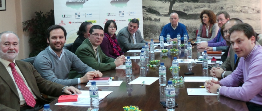 Fotografía de la reunión