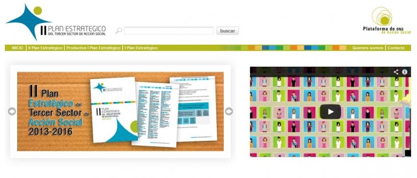 Web Plan Estratégico Tercer Sector