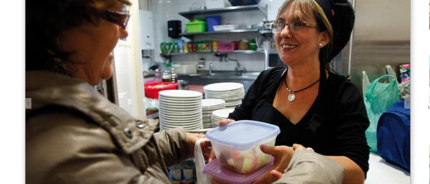 Comedor Social en el barrio de la Viña, Cádiz. Financiado por el IRPF. UDP