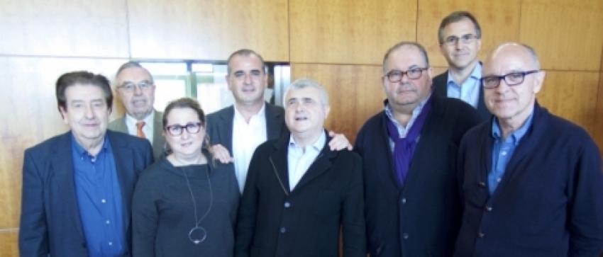 Asamblea General de la Plataforma Autonómica, celebrada en la sede de la Delegación Territorial de la ONCE en Valencia