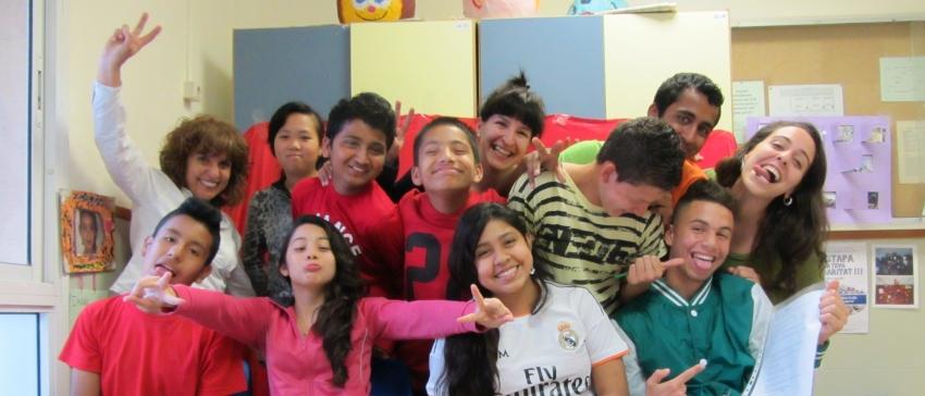 Fotografía: Educación en Valores y Solidaridad para jóvenes en riesgo de exclusión social