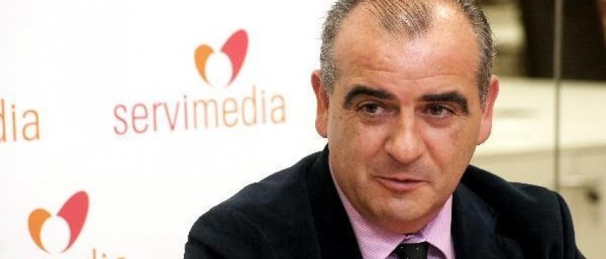 Fotografía: Luciano Poyato, reelegido presidente de la Plataforma del Tercer Sector.