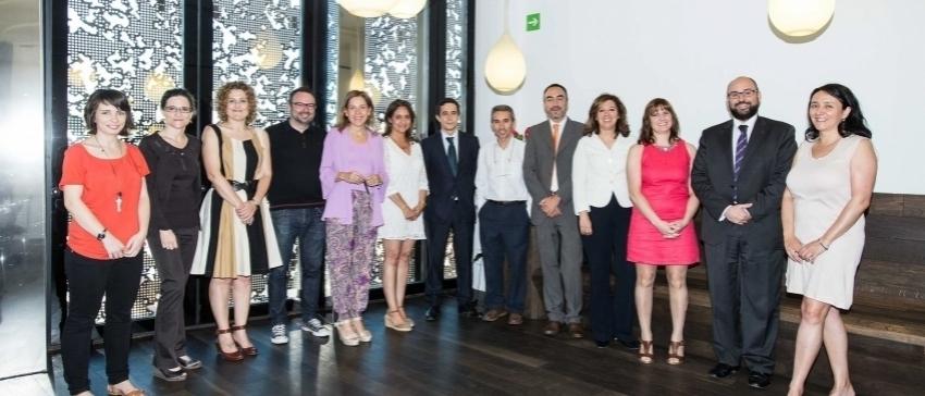 Fotografía: El 4 de julio, la PVE asistió a una reunión con participantes europeos para hablar de voluntariado corporativo.