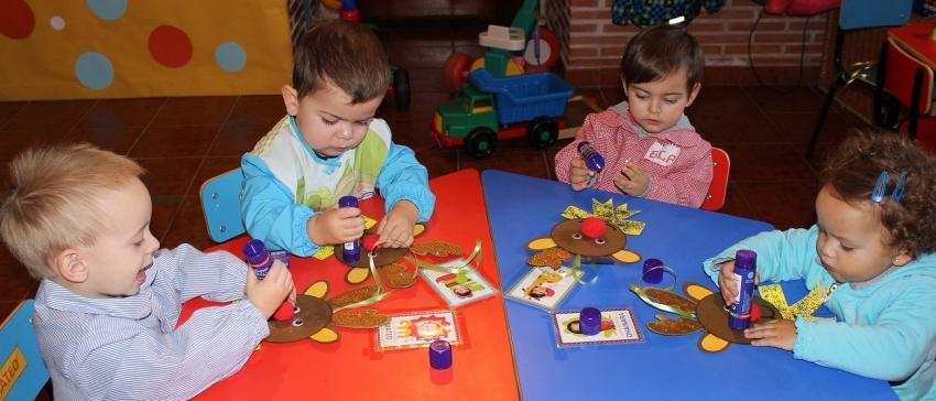 Fotografía: Programa Educativo para menores de entre 0 y 3 años de COCEDER.