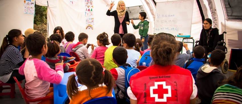 Fotografía: Cruz Roja Española