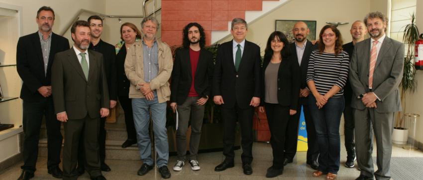 Miembros del Jurado de los Premios Tiflos de Periodismo de la ONCE en las categorías de Prensa y Periodismo Digital