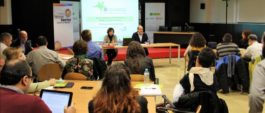 Fotografía del Diálogo Territorial celebrado en Toledo