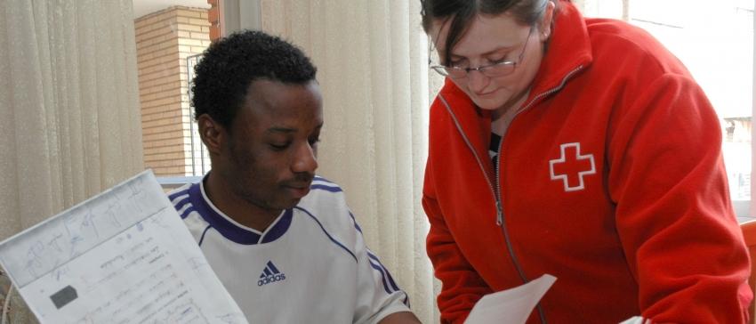 Acogida integral a personas migrantes Cruz Roja