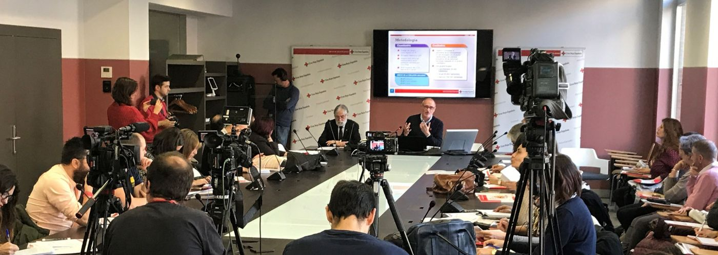 Presentación en Madrid del estudio sobre la vulnerabilidad social / Cruz Roja