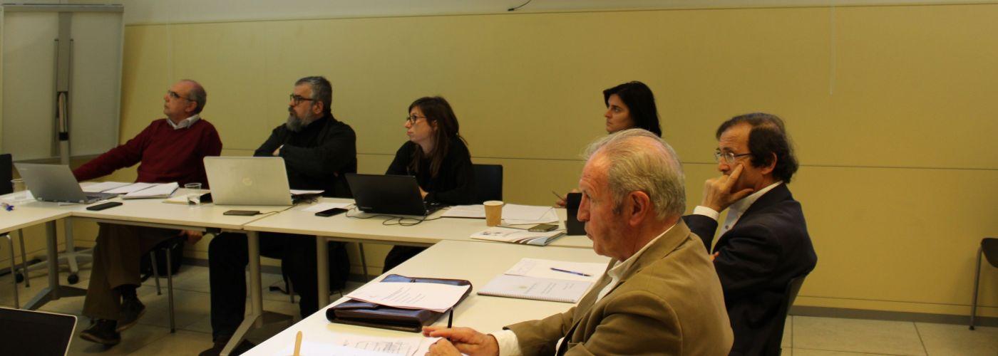 Imagen del Comité Científico para el Estudio del Tercer Sector Social celebrado en Madrid el 28 de enero de 2019