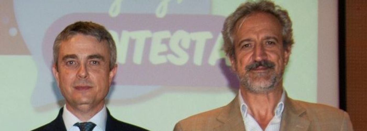 ©Autismo España: Miguel Ángel de Casas, presidente de la Confederación Autismo España, y Pedro Ugarte, presidente de la Federación Española de Autismo FESPAU.