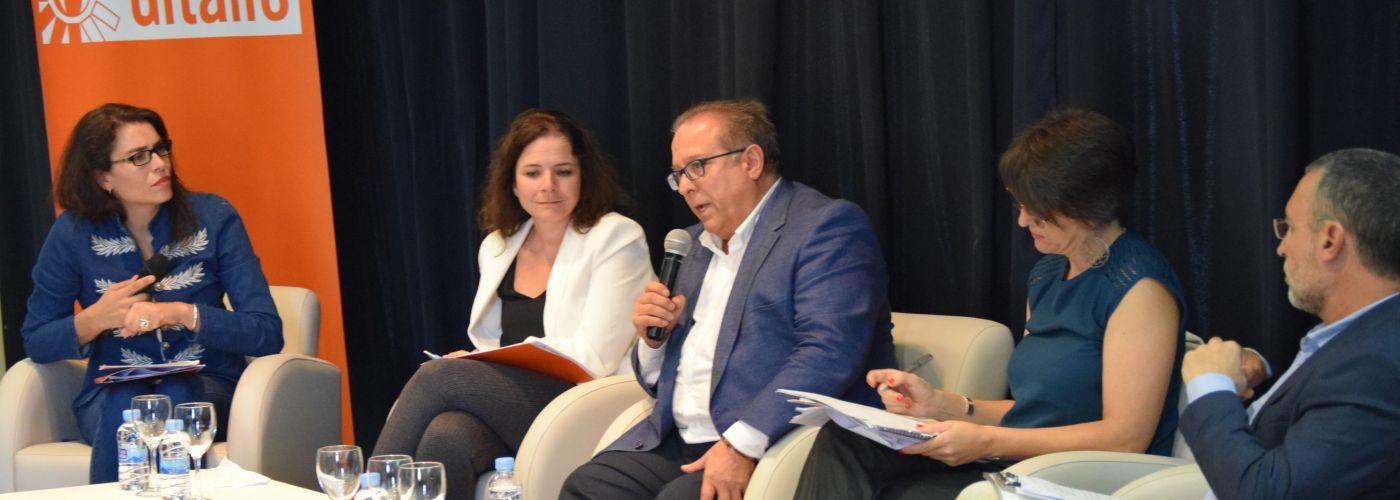 Mesa de debate en la presentación del Estudio en el Círculo de Bellas Artes (Madrid)