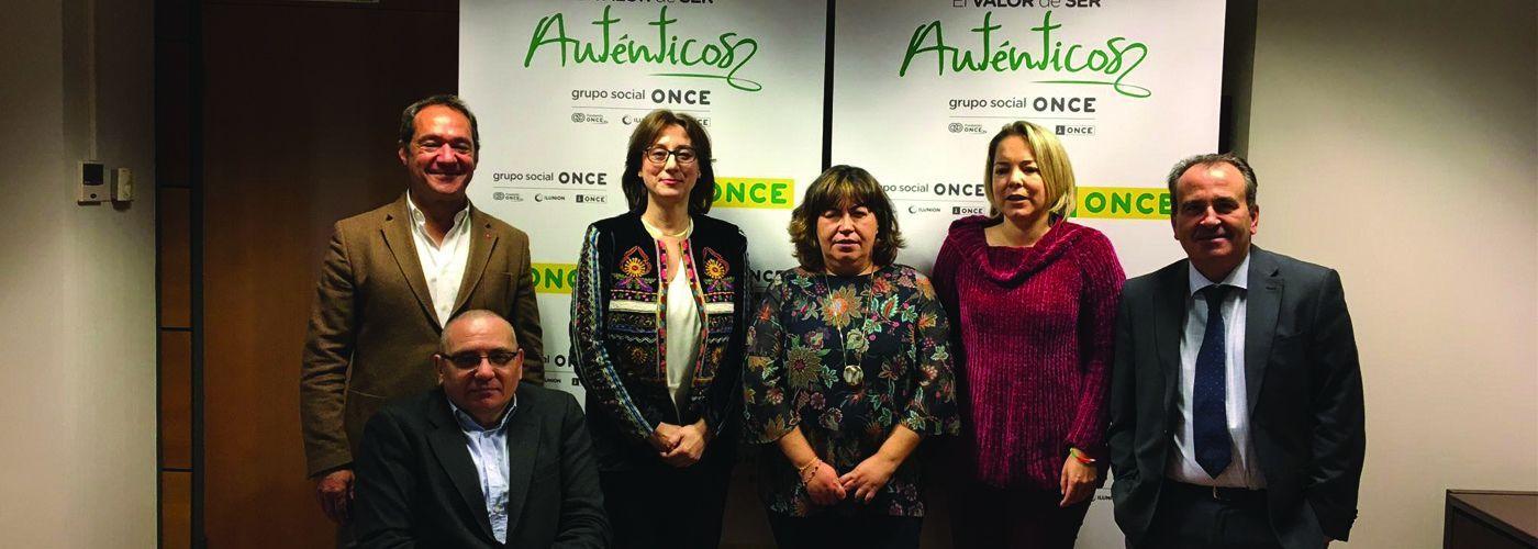 © Grupo Social ONCE. Varios de los miembros del Jurado de los Premios Solidarios ONCE Madrid 2019
