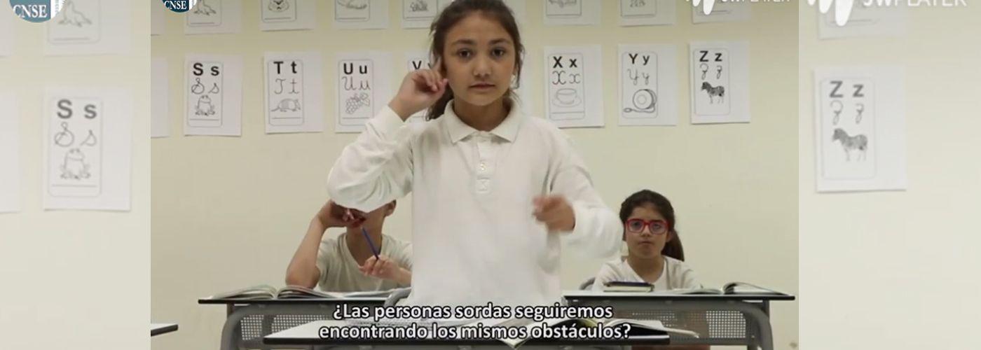 © Confederación Estatal de personas sordas CNSE