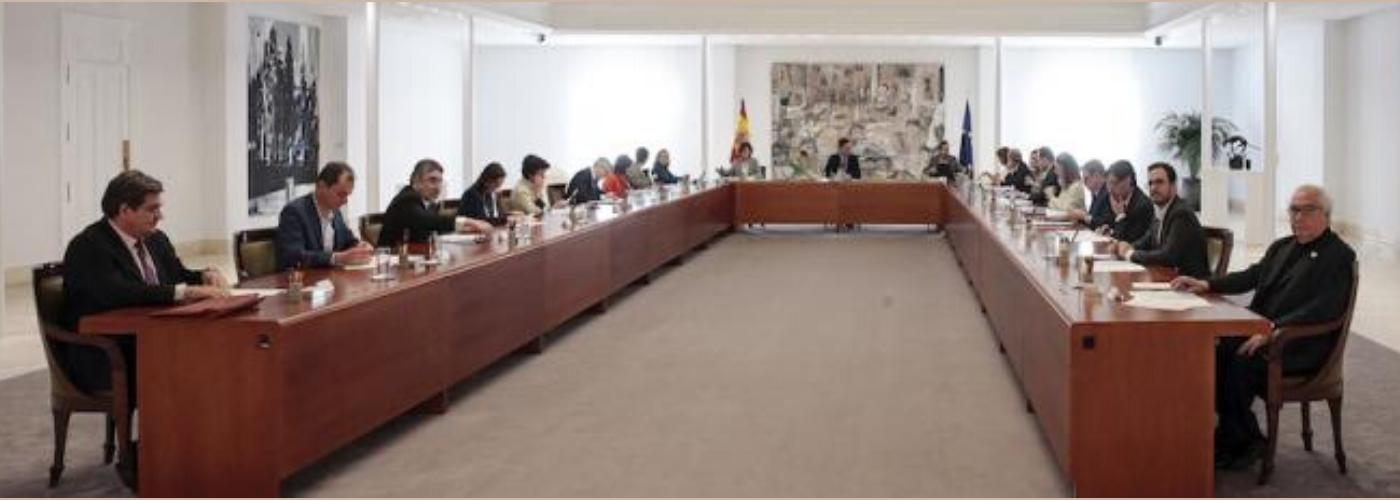(Reunión del Consejo de Ministros. Pool Moncloa. JM Cuadrado).