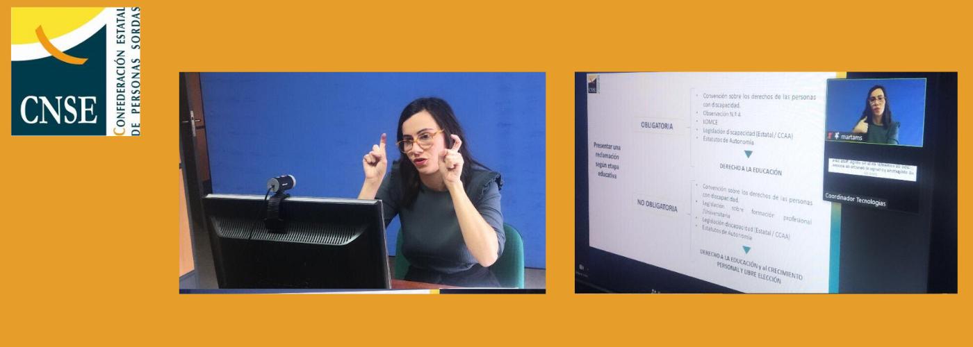La CNSE alerta sobre el aislamiento comunicativo que afecta al alumnado  sordo - Plataforma de ONG de Acción Social